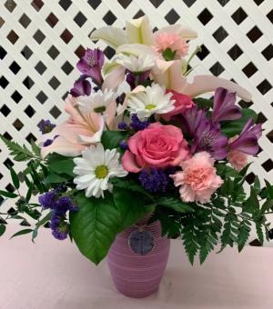 My Darling Dragonfly Bouquet Fresh Arrangement in Plantation, FL | Pink Pussycat Flower and Gift Shop