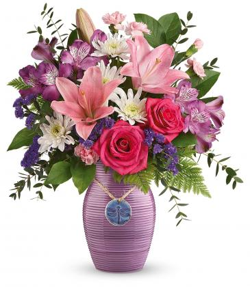 *****  sold out  ***My Darling Dragonfly Bouquet  T20M100A Teleflora's