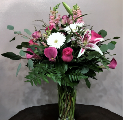 My Enduring Love Vased Arrangement