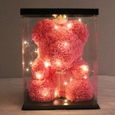 My Everything Rose Bear H40-45cm **only with Aria Florist**