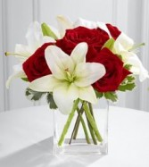 My Everything Valentine's Day Bouquet  Roses And Lilies