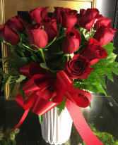 MY FAIR LADY 18 LONG STEMMED RED ROSES