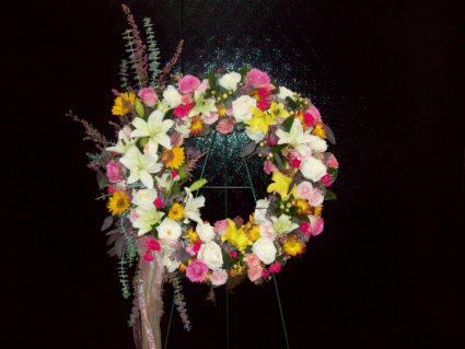 Elegant Remembrance  wreath