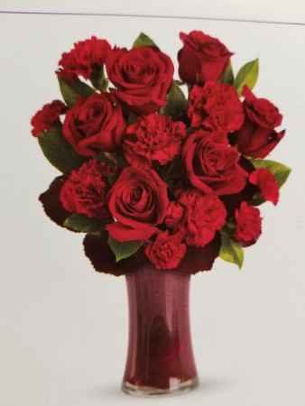 My favorite All Red vase