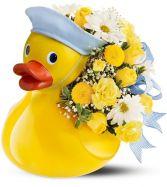 My First Duckie New Baby - Boy Shown
