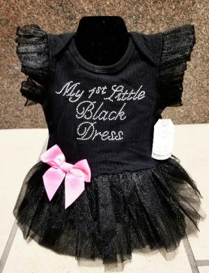 My First Little Black Dress Baby in Wichita, KS | Via Christi Flower & Gift Shop