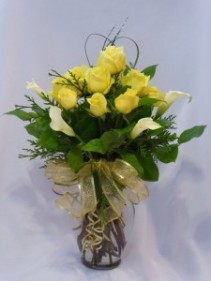 MY FRIEND MY LOVE-  Yellow Roses.  Roses Prince George BC   Prince George BC Roses