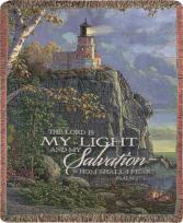 My Guiding Light Memorial Throw Gift