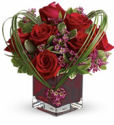 Heart of Roses Floral Bouquet