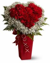 My Heart Is Full Vase