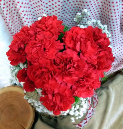 My Heart vase arrangement