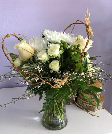 My heart. Vased arrangement