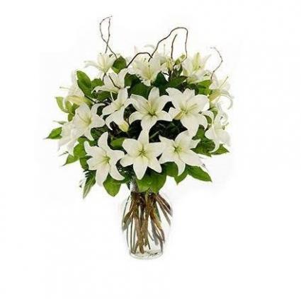My Lily Vase Arrangement