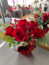 My Little Red Valentine Arrangement
