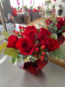 My Little Red Valentine Arrangement