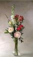 My love Bud vase of mixed valentine flowers