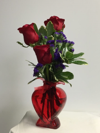 My Love  Red vase  fresh(style may be different