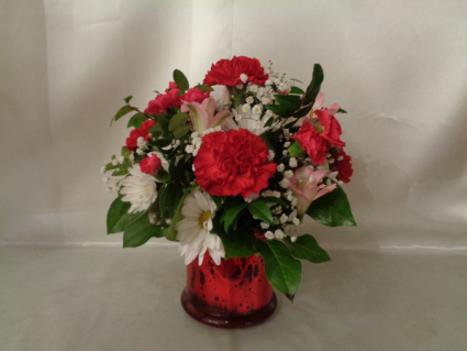 BUCKET OF LOVE Vase Arrangement (local delivery only)