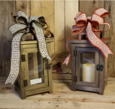My Ole Wooden Lantern Gift