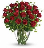 My Perfect Love - Long Stemmed Red Roses floral arrangement