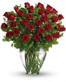 My Perfect Love - Two Dozen Long Stemmed Red Roses