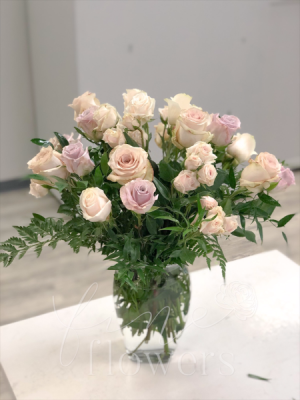 My Romance Vase Arrangement in Middletown, NJ | Fine Flowers