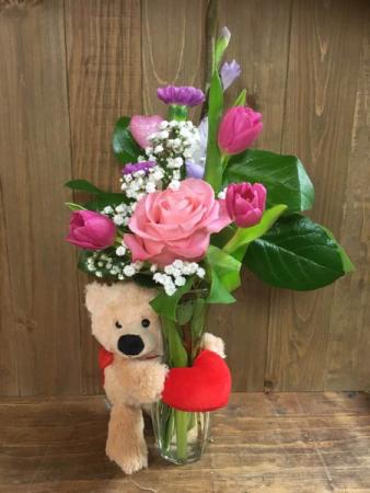 My Sweet Lil' Valentine Bud Vase