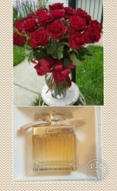 My Sweet Valentine Roses and Perfume Gift Set