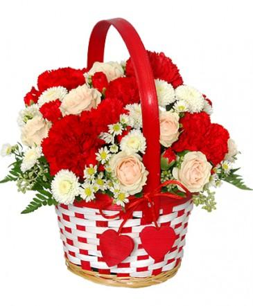 My Sweetie Bouquet Flower Basket In Virginia Beach Va Zontini