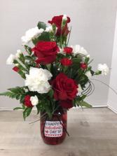 V100 - My Valentine Arrangement