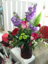 My Valentine Bouquet Fresh Flowers