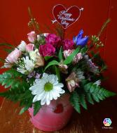 My valentine Ceramic arrangement