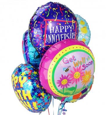 Mylar Balloon Bouquet Mylar