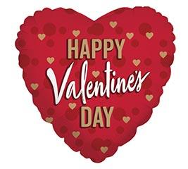 Mylar balloon  Valentine's Day