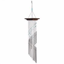Mystic Spiral Wind Chime Wrapped Gift