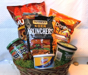 nacho basket gift basket local delivery only in defiance oh