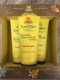 Naked bee gift set