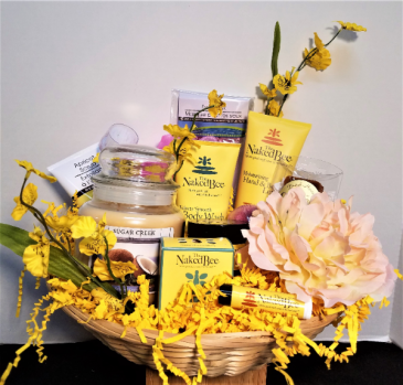 Naked Bee Spa Basket
