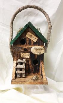 Nana's Attic Rustic Bird House Gift / Sympathy