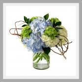 Nantucket Blues Vase Arrangement