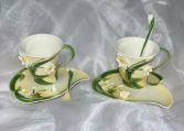 Narcissus Tea Cup Garden Tea Set