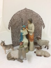 Nativity Set Willow Tree