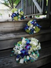 Natural Blues Wedding Wedding