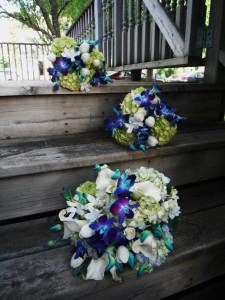Natural Blues Wedding Wedding