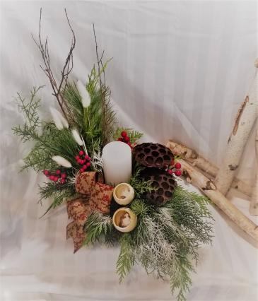 Natural Christmas Arrangement