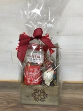 Natural christmas Christmas arrangement