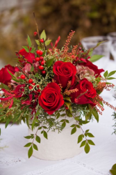 Natural Christmas Vase arrangement