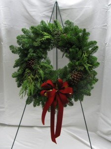 Natural Evergreen Wreath Outdoor wreath