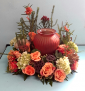 Natural Grace Wreath Funeral