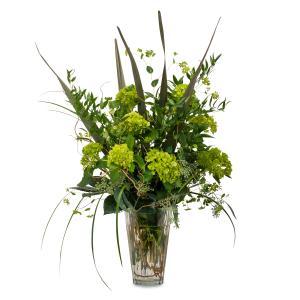Natural Green Arrangement in Brainerd, MN   BRAINERD FLORAL